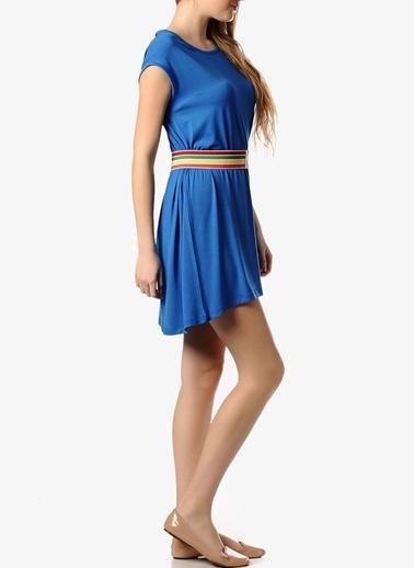 Asymmetry Elbise Mavi
